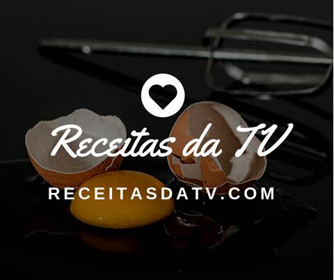 Logo do ReceitasdaTV, receita de cuscuz Paulista Natalino