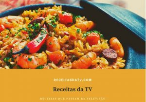 Receitas da TV frutos do mar