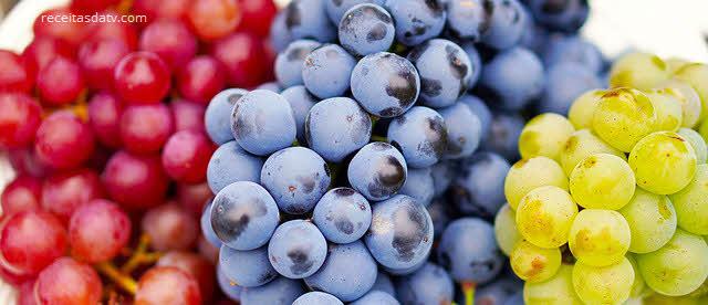 Chá de gengibre e uva