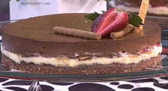 Torta napolitana do Mais Você