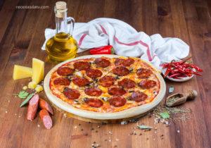 Receitas da TV com pizza calabresa