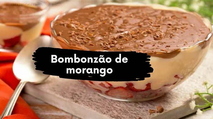 Bombonzão de morango