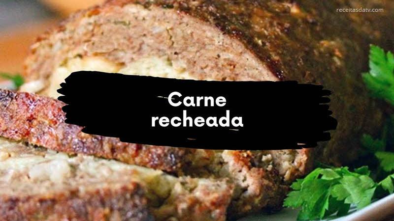 receitas da tv carne recheada