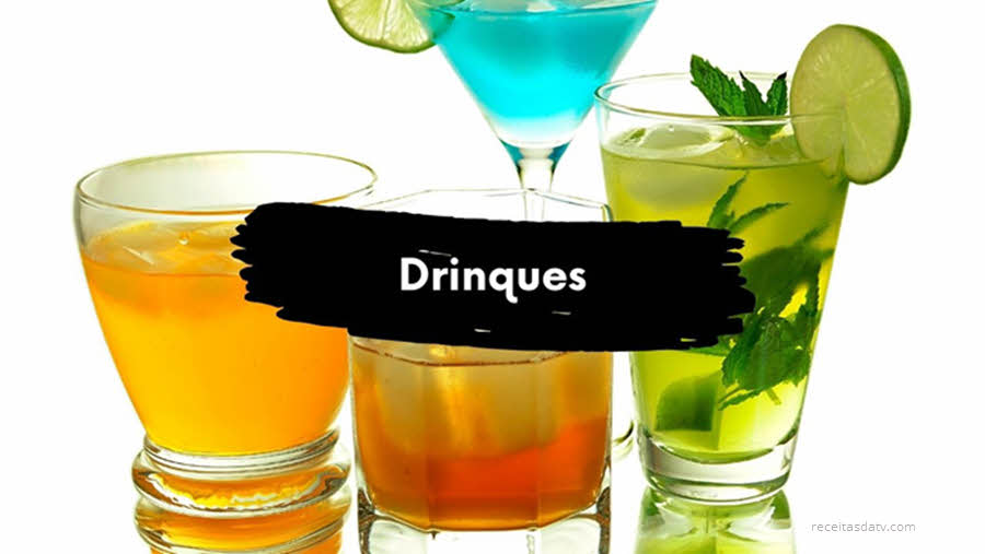 Drinques alcoólicos