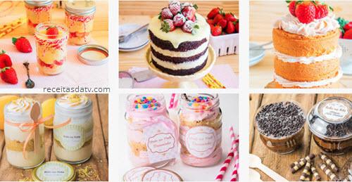 Como fazer bolo de pote